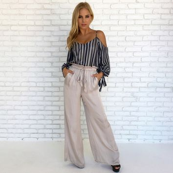 Glisten & Shine Wide Leg Pants