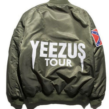 Limited Edition YEEZUS Tour MA-1 Bomber Jacket