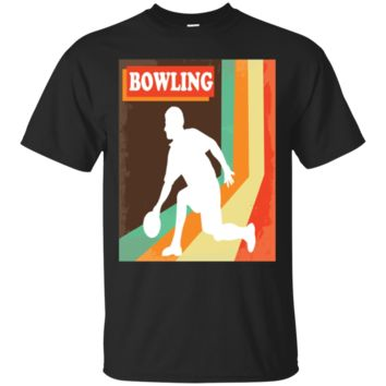 Vintage Bowlers TShirt Hoodie Bowling Pin And Ball Tee