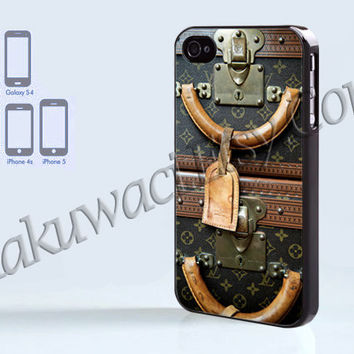 Louis Vuitton Luggage - iPhone 4 case - iPhone 4S case - Samsung Galaxy S3/S4 - iPhone case - Hard Plastic - Case Soft Rubber Case