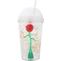 Disney Beauty And The Beast Enchanted Rose Acrylic Travel Cup