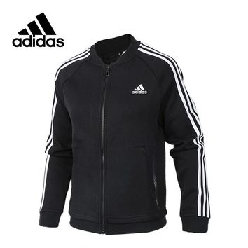 Adidas New Arrival Authentic JKT KN BOMBER 3 Women's Breathable jacket Sportswear CF3863