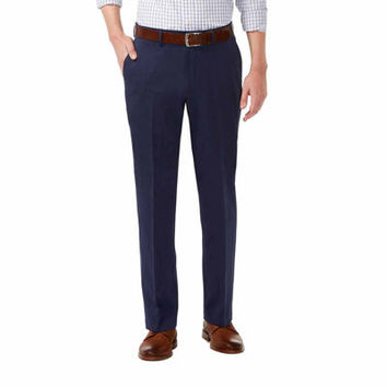 Haggar Standard Straight Fit Flat Front Pant - JCPenney