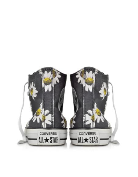 c8b2dae0a419 Converse Limited Edition Designer Shoes Chuck Taylor All Star Black and  Citrus Daisy P