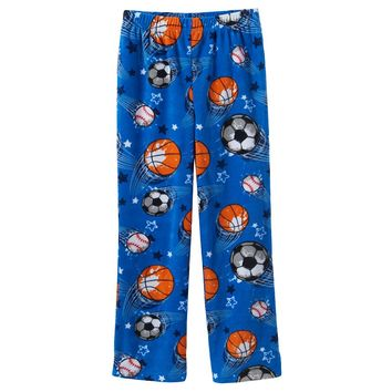 Jelli Fish Fleece Pajama Pants - Boys 8-20