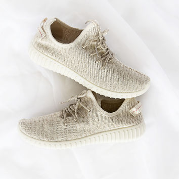Faux Feezy Neutral Trainers