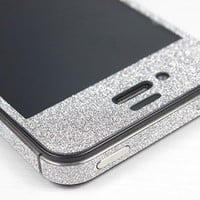 Nice Silver Cool Shiny Rhinestone Cover Skin Sticker For Iphone 4/4s