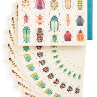 Rustic Arthropods and Ends Notecard Set by ModCloth