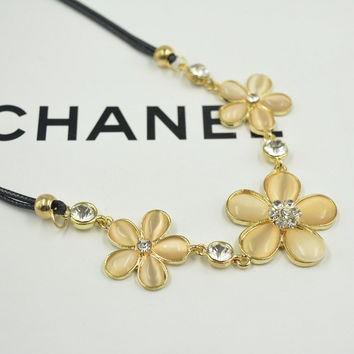 Jewelry Gift New Arrival Shiny Korean Stylish Cats Fashion Pendant Sweater Chain Necklace [10417740436]
