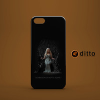DRAGON NO SLAVE Win Die Design Custom Case by ditto! for iPhone 6 6 Plus iPhone 5 5s 5c iPhone 4 4s Samsung Galaxy s3 s4 & s5 and Note 2 3 4