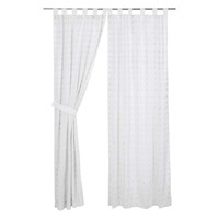 Willow White Panel Curtains