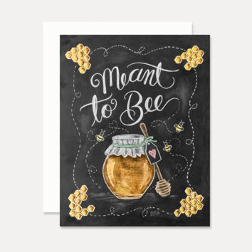 Meant to Bee - A2 Note Card