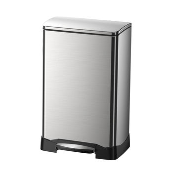 NEO Cube 40L Trash Can, Stainless