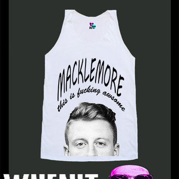 worldwide shipping just 7 days MACKLEMORE shirt singlet tank top 10348