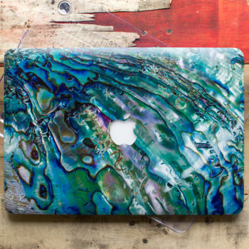 Abalone Shell Hard Case for Apple Mac Air MacBook Pro Retina Cover Hard Plastic Cover MacBook Pro 15 Shell Hardcase MacBook Air Book Case