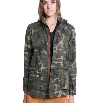 Back In Action Army Jacket - Camouflage