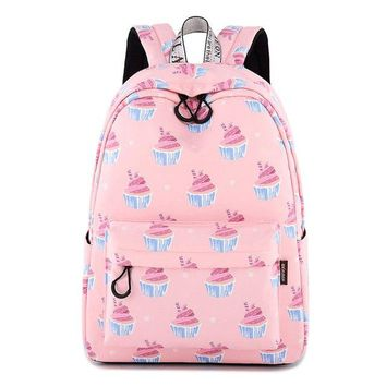 University College Backpack Girl  Student Sweet Cute  Lady Casual Waterproof Polyester Fabric s Youth Party Learning Laptop Bags GiftAT_63_4