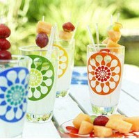 Juicy Drinking Glasses (Set of 4)