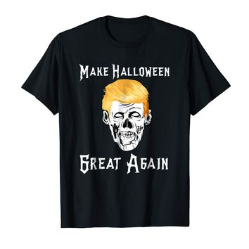 Trump Zombie Make Halloween Great Again Costume Shirt