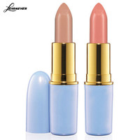 LEARNEVER 2016 Hot Cinderella Lipstick High Quality Nude Lipsticks 2 Color Waterproof Lip Matte Lipstick M02574