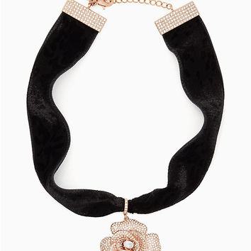midnight rose choker | Kate Spade New York