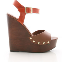 Bolt Knocker Wedges - Wedge Heels at Pinkice.com