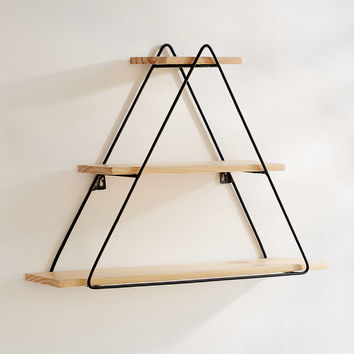 Tiered Triangle Wall Shelf | Urban Outfitters