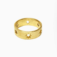 Starlight Ring - Brass