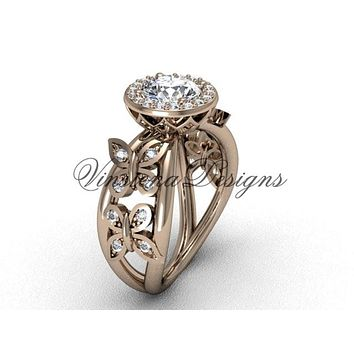 Best Butterfly Engagement Ring Products on Wanelo 4948a94d4
