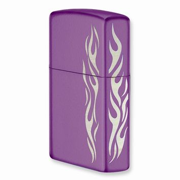 Zippo Abyss Tribal Tattoo Lighter - Engravable Personalized Gift Item