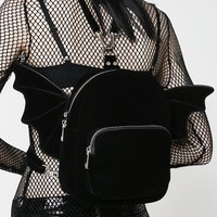 Velvet Bat Wing Backpack (1 left!)
