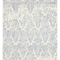 Dynamic Rugs Milan Ivory/Slate Distressed Rectangle Area Rug