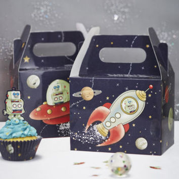Spaceship Party Boxes