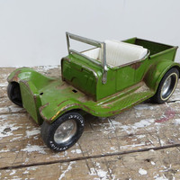 Nylint Toys Green Jeep Toy Car Green Metal Car Hot Rod