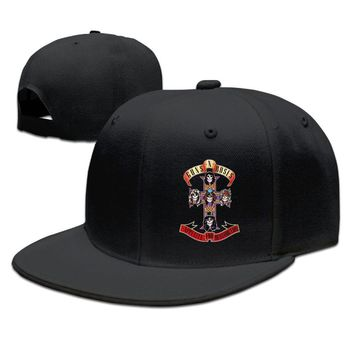 Guns N' Roses Appetite For Destruction Printing Unisex Adult Womens Fitted Hats Mens Baseball Hats