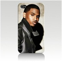 Trey Songz Hard Case Skin for Iphone 4 4s Iphone4 At&t Sprint Verizon Retail Packing.