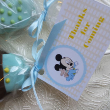 Disney Cake Pops Themed 24 pieces Assorted Birthday Favors Baby Shower Favors Girl Shower Boy Shower