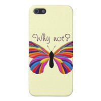 Impossible Butterfly - Why Not? Case For iPhone SE/5/5s
