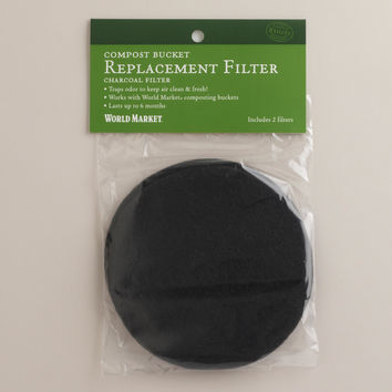 Compost Charcoal Filters, Set of 10 - World Market