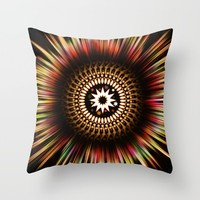 Supernova Throw Pillow by Inspired Images
