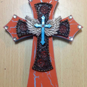 Luck of the Irish SALE Small Wing Cross