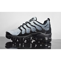 "2018 Nike Air Max Plus TN VM ""Grey&Black"" Vapormax Vapor Max Men Fashion Running Sneakers Sport Shoes"