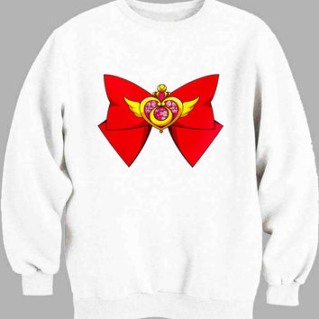 Deluxe Sailor Moon Crisis Moon Compact Sweater for Mens Sweater and Womens Sweater ***
