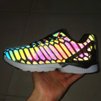 Fashion Chameleon Reflective Sneakers Sport Shoes