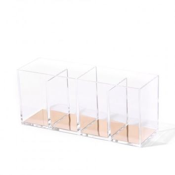 Isaac Jacobs 4-Compartment Box