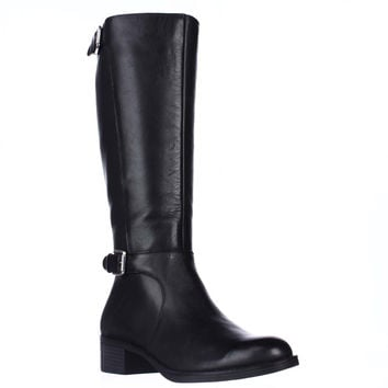 Franco Sarto Chilled  Knee-High Riding Boots - Black