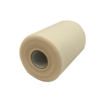ac NOOW2 Wedding Tulle Roll 6''*100yard (6inch*300ft) Party Gift ivory Color Matt Table Cloth For Wedding DIY Tutu Wedding Decoration