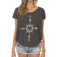 Billabong You Or Me Ss - Off Black - J9101YOU				 |  			Billabong 					US
