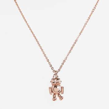Ted Baker London Bionic Robot Pendant Necklace | Nordstrom