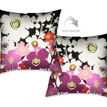 Flower Power II Indoor Decorative Pillow